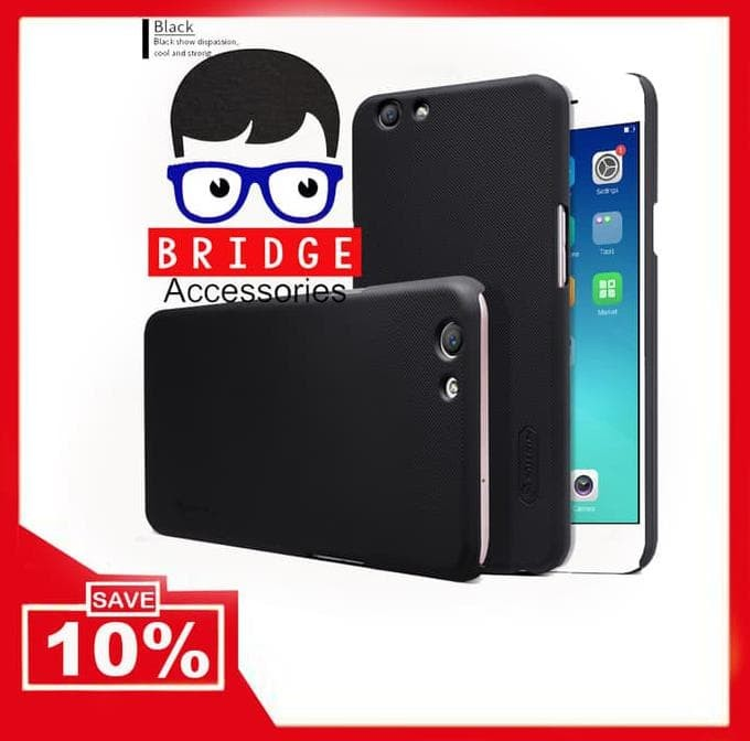 Nillkin Frosted Shield Oppo F1s / A59 ( Hard Case ) - Hitam