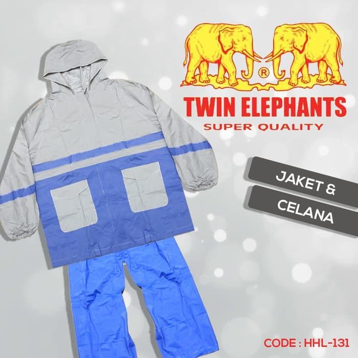 harga Jas hujan set twin elephant (baju dan celana) Tokopedia.com