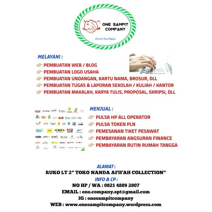Jual Jasa Pengetikan Pembuatan Aneka Tugas Laporan Proposal Skripsi Dll Kab Kotawaringin Timur One Sampit Company Tokopedia