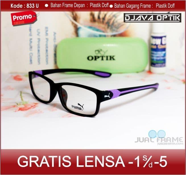 Kacamata Fashion Pria Dan Wanita Puma833 - Cek Harga Terkini dan ... 132488c528