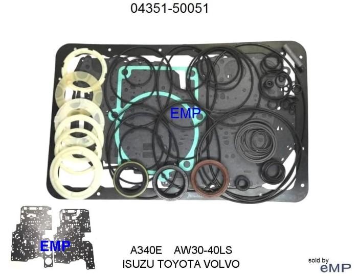 Jual TOYOTA VOLVO CHEROKEE PACKING SETMATIC A340 30-40LE TRANS 04351-50051  - Kota Batam - E-Mobil Parts | Tokopedia