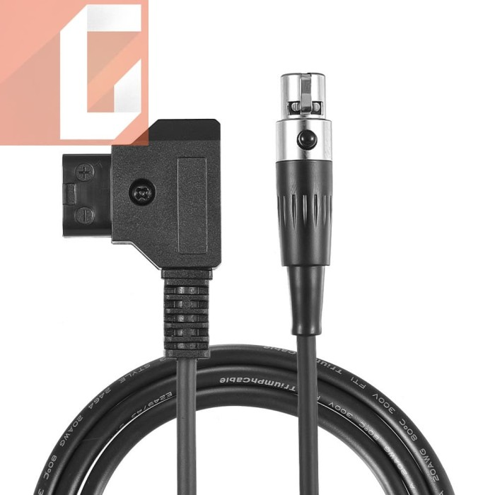 Andoer Dtap Male to Female Extension Cable for Sony V-mount Anton Battery