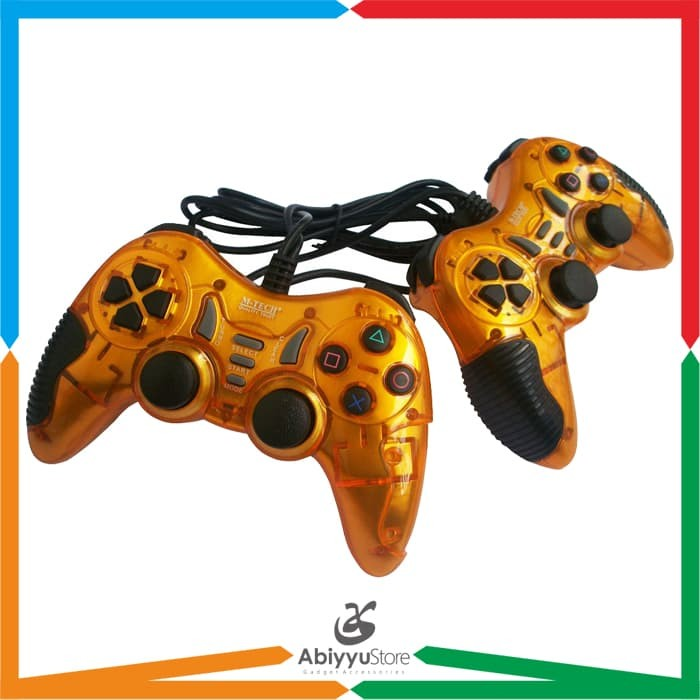 Gamepad Turbo Double MT-8200 M-Tech / K-One For Stick PC Laptop - Gold