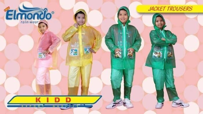 Jas hujan anak elmondo kidd 602 raincoat remaja setelan rain coat kids