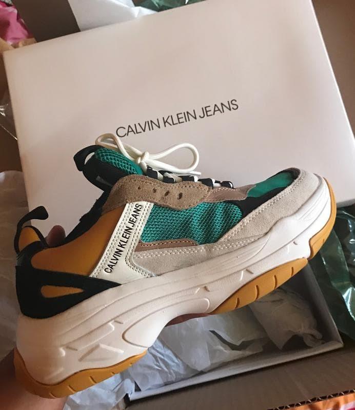 Sepatu CALVIN KLEIN Marvin Sneakers Original + receipt pembelian ori! cf44d88aa5
