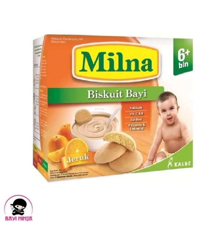 harga Milna biskuit bayi jeruk 6+ 130g / 130 g Tokopedia.com