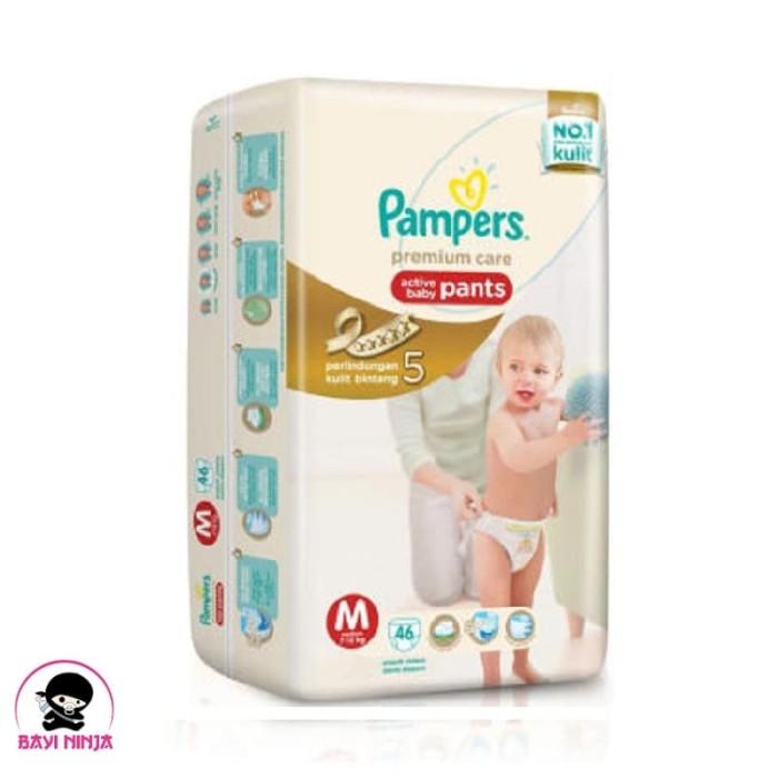 harga Pampers premium care pants m46 / m 46 Tokopedia.com