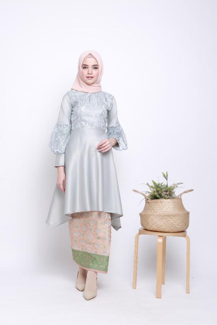 Jual Kebaya Muslim Kebaya Modern Set Rok Songket Kota Surakarta Solokebaya Net Tokopedia