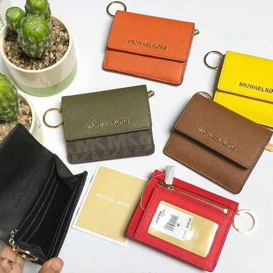 meet b05a3 b3078 Jual Dompet Michael Kors original - Mk card case id holder w - Kota Bekasi  - ori.bagzfrom_us | Tokopedia