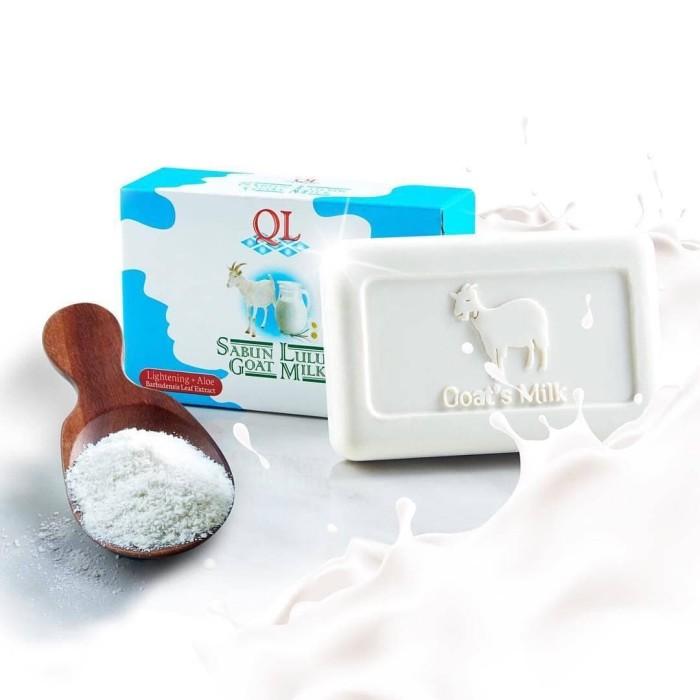 QL Sabun Lulur Goat Milk - Scrub Susu Kambing