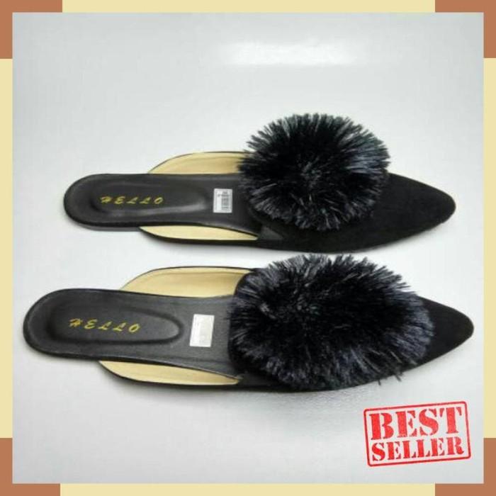 Sandal Slop Pom Pom Wanita 3 Varian Warna - Wiring Diagram And ... b831e8d75c