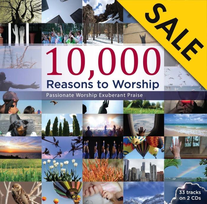 harga Cd rohani maranatha - 10.000 reasons to worship - various - cdz-1426b Tokopedia.com