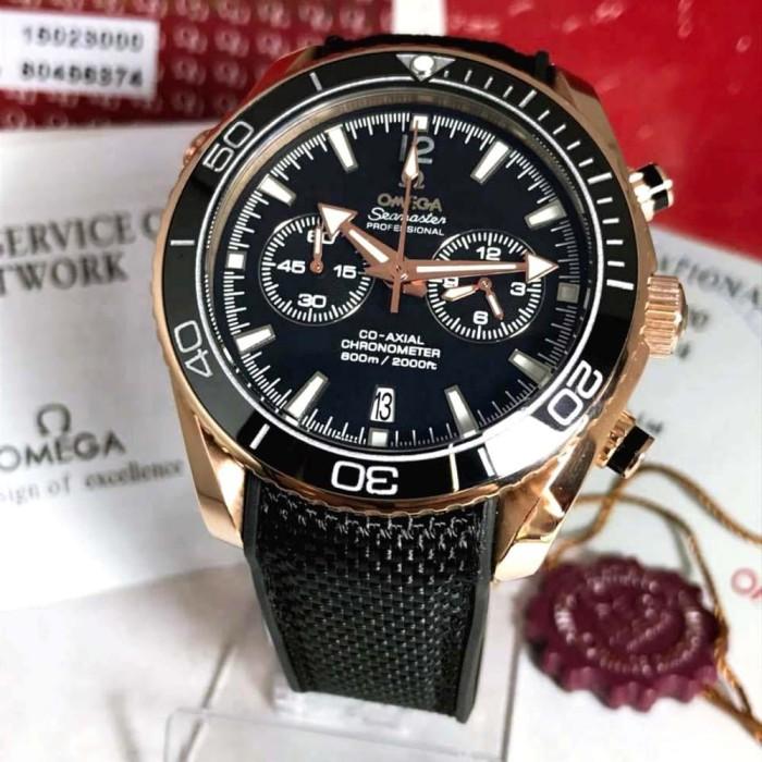 ... harga Jam tangan pria omega seamaster 45mm fullset box original  Tokopedia.com 0b8bf1b952
