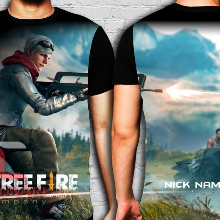 Jual Free Fire 04 Clothes FREE add Nick Name - Baju Kaos Game Anak Gaming -  , - Kota Bandung - Cyber Clothes 78 | Tokopedia
