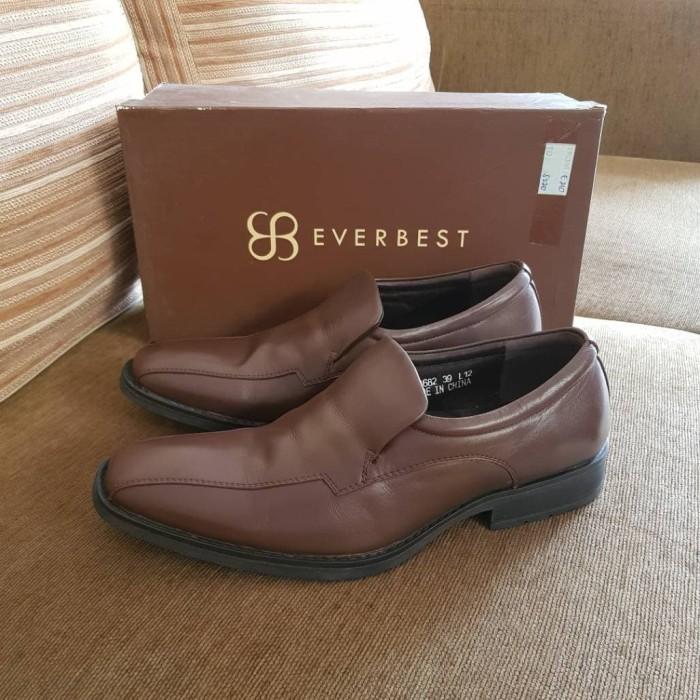 harga Sepatu everbest kulit original bukan play boy kickers clarks keeve Tokopedia.com