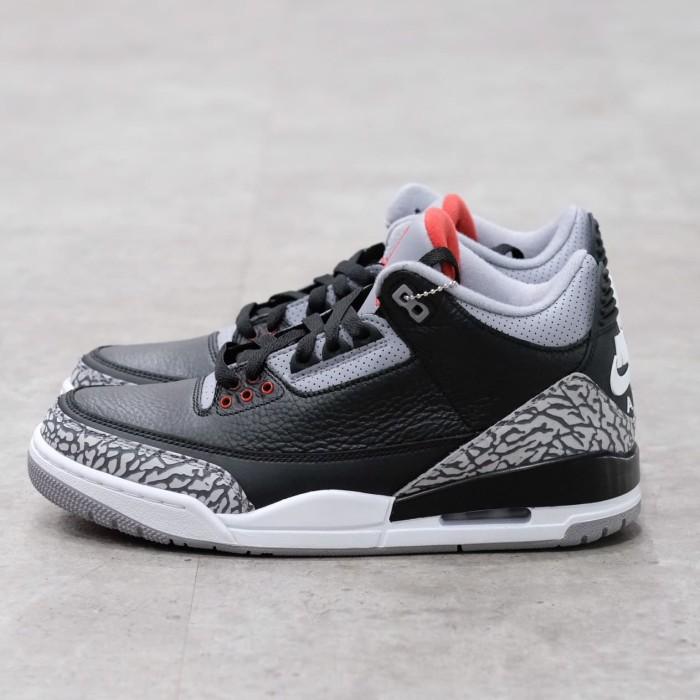 046ccefc4ad6 Jual Air Jordan 3 Black Cement 100% Authentic - Kota Administrasi ...