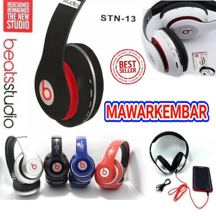 ... harga Headphone bluetooth beats stn-13 / headset beat bando stn13 stereo Tokopedia.com