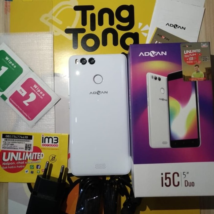 harga Advan i5c duo 2/16 lte Tokopedia.com