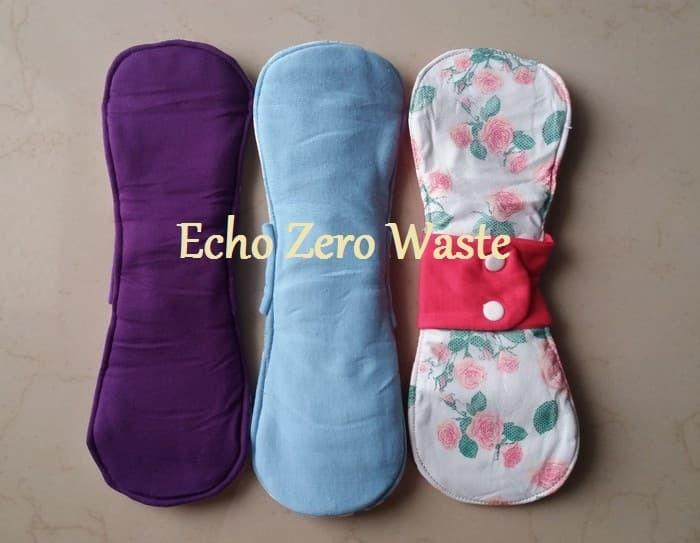 Jual Pembalut Kain Night 30cm Menspad ramah lingkungan zero waste - Jakarta  Barat - Echo - Zero Waste   Tokopedia