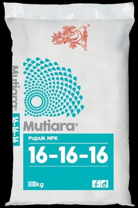 Jual Pupuk Npk Mutiara 16 16 16 1 Kg Kemasan Asli Pabrik Meroke Kota Bandung Antafunyfarm Tokopedia