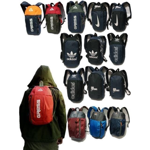 Tas ransel mini serbaguna - ransel kecil outdoor pack - tas sepatu