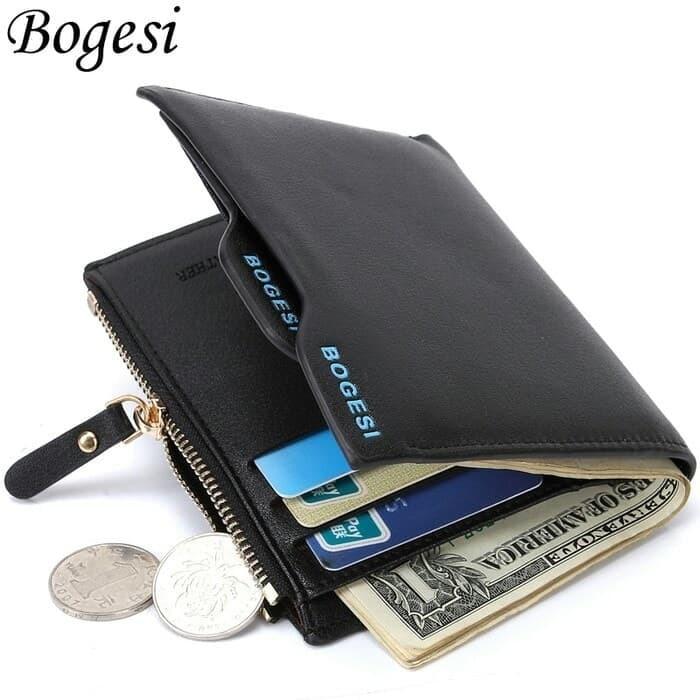 Jual Bogesi Dompet kulit pria leather PU with zipper - Jakarta-Musik ... b0b6203c8d
