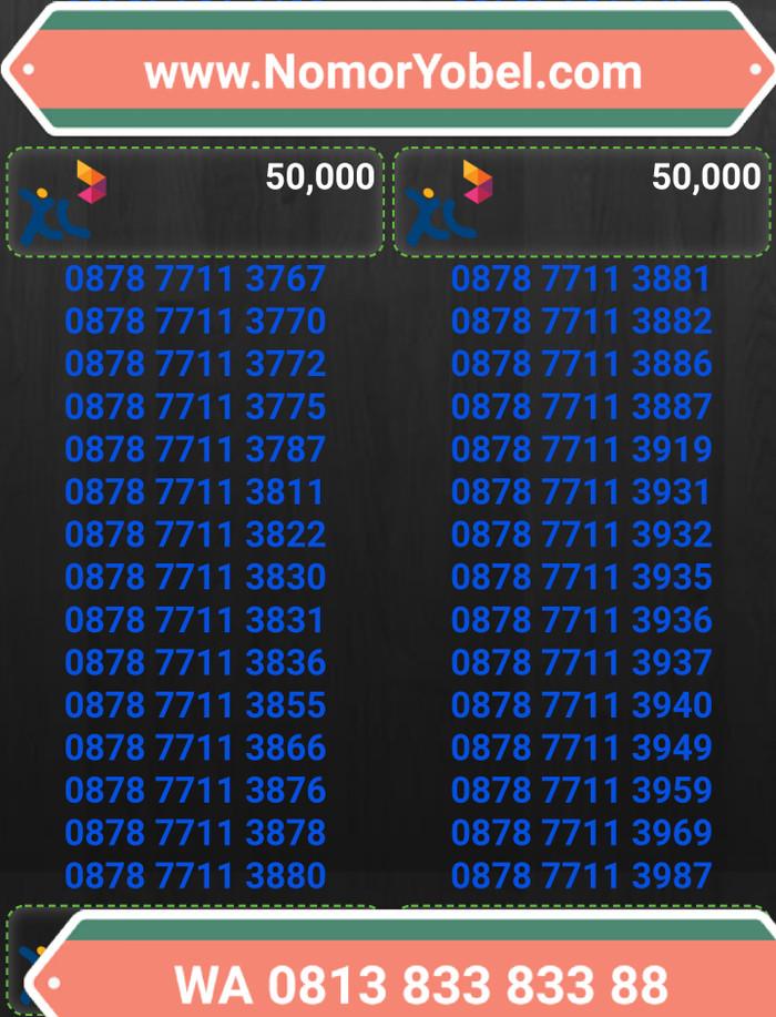 Kartu perdana nomorcantik xl bebas tp50