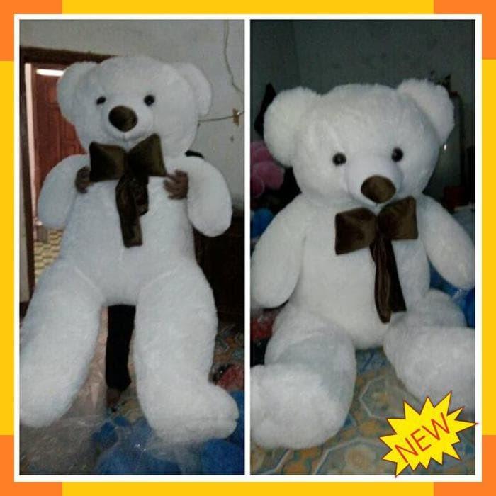 Jual Boneka bear SUPER BIG JUMBO DUDUK 150 CM TERMURAH - din20shop ... fa84e41db4
