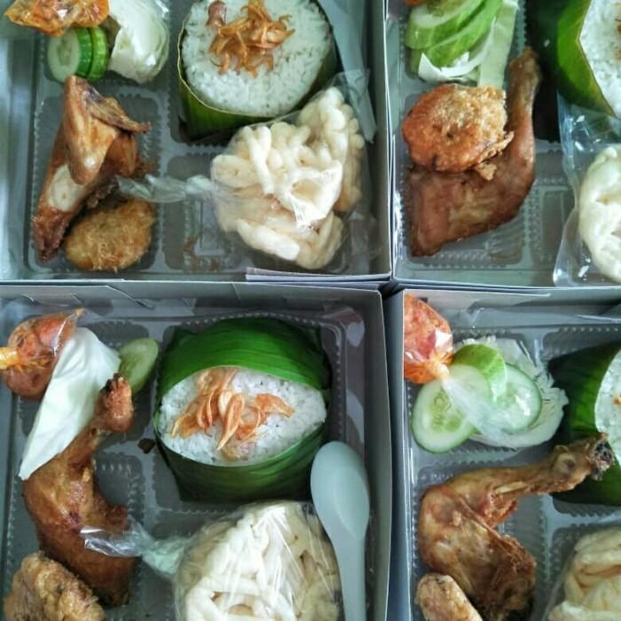 Jual Paket Nasi Uduk Ayam Goreng Bakar With Nasi Kotak Nasi Box Catering Dki Jakarta Novicatering Tokopedia