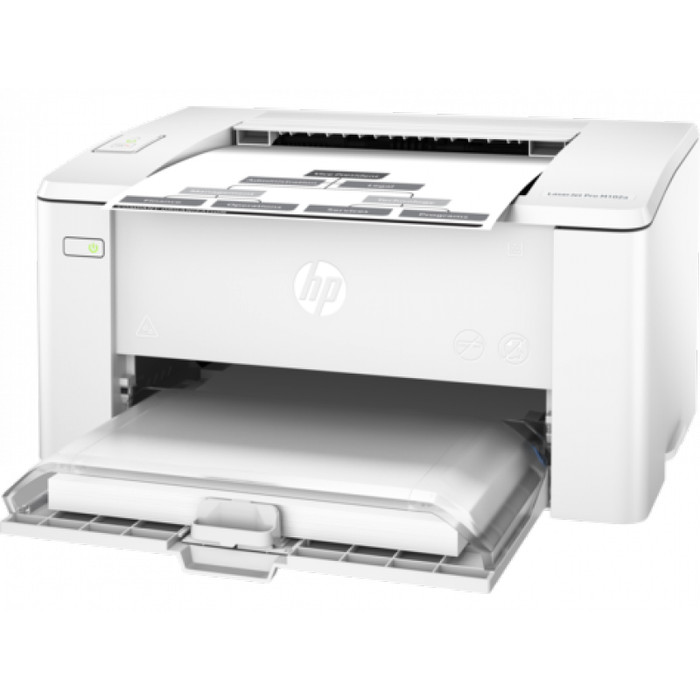 Printer hp laserjet pro m102 mono black laser (pengganti p1102) c6792db4b5