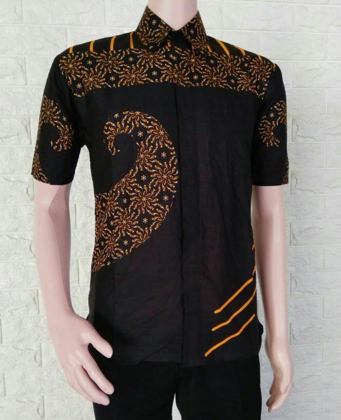 77 Desain Baju Batik Pria Kombinasi