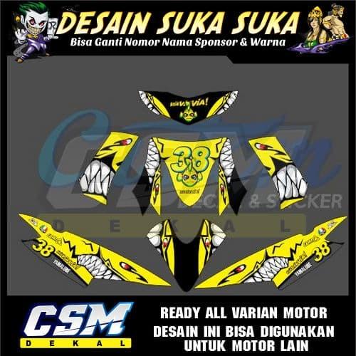 Jual 373 DEKAL DECAL MOTOR MIO SOUL KARBU LAMA STIKER STICKER STRIPING BODY  - Kota Salatiga - csmdecal II   Tokopedia