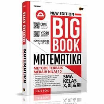 Foto Produk New Edition Big Book Matematika SMA Kelas X, XI, & XII dari kanaya bookstore