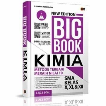 Foto Produk New Edition Big Book Kimia SMA Kelas X, XI, & XII dari kanaya bookstore