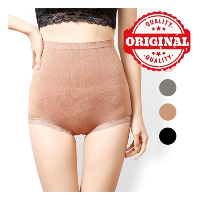 MUNAFIE Slimming Pants Japan Korset/ Celana Pelangsing Nyaman Munafie - Hitam