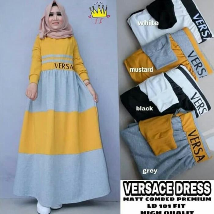 Jual Gamis Versace Dres Gamis Kekinian Gamis Terbaru Gamis Terlaris