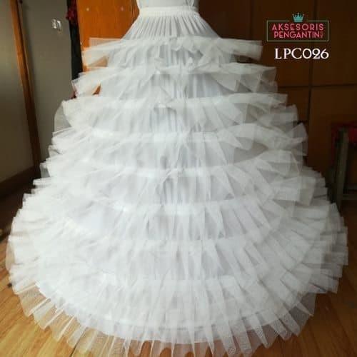 harga Petticoat wedding super ball gown (9rig 9layer tile) - lpc026 Tokopedia.com
