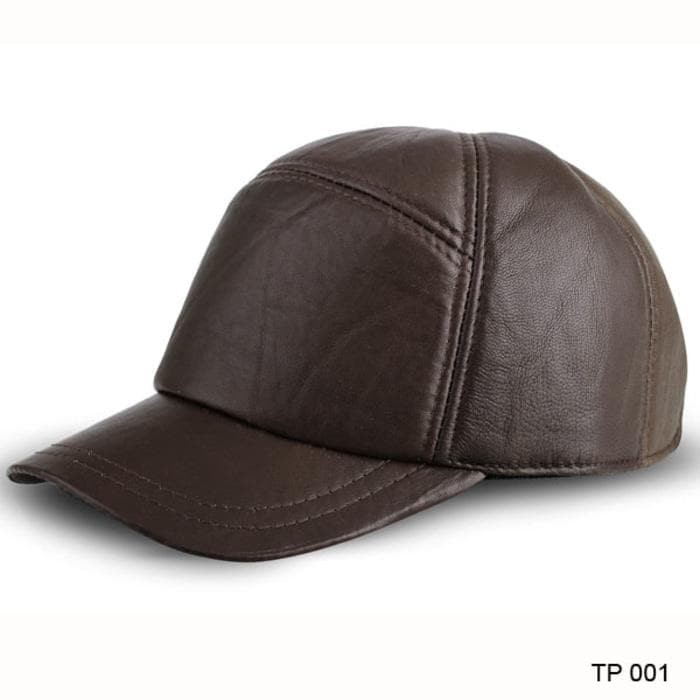 Topi Kulit Kasual Pria JK Collection TP 001