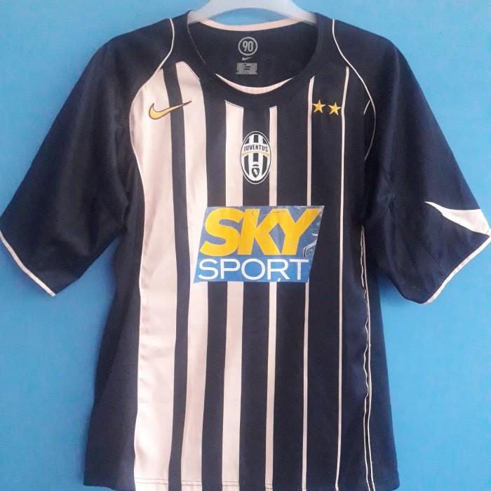 2844de54f Jual Jersey Juventus Original Away Juve 2004-05 Nedved - Kota ...