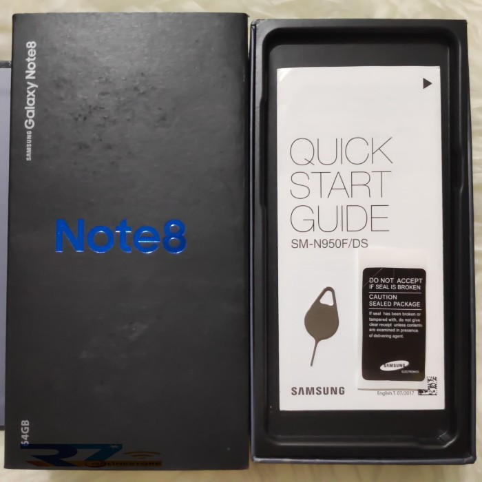 Box/Dus/Kotak Samsung Galaxy Note 8 (Full Set OTG & Konverter Type