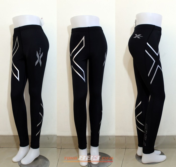 harga 2xu women joggers compression fitness tight running clothes breathable Tokopedia.com