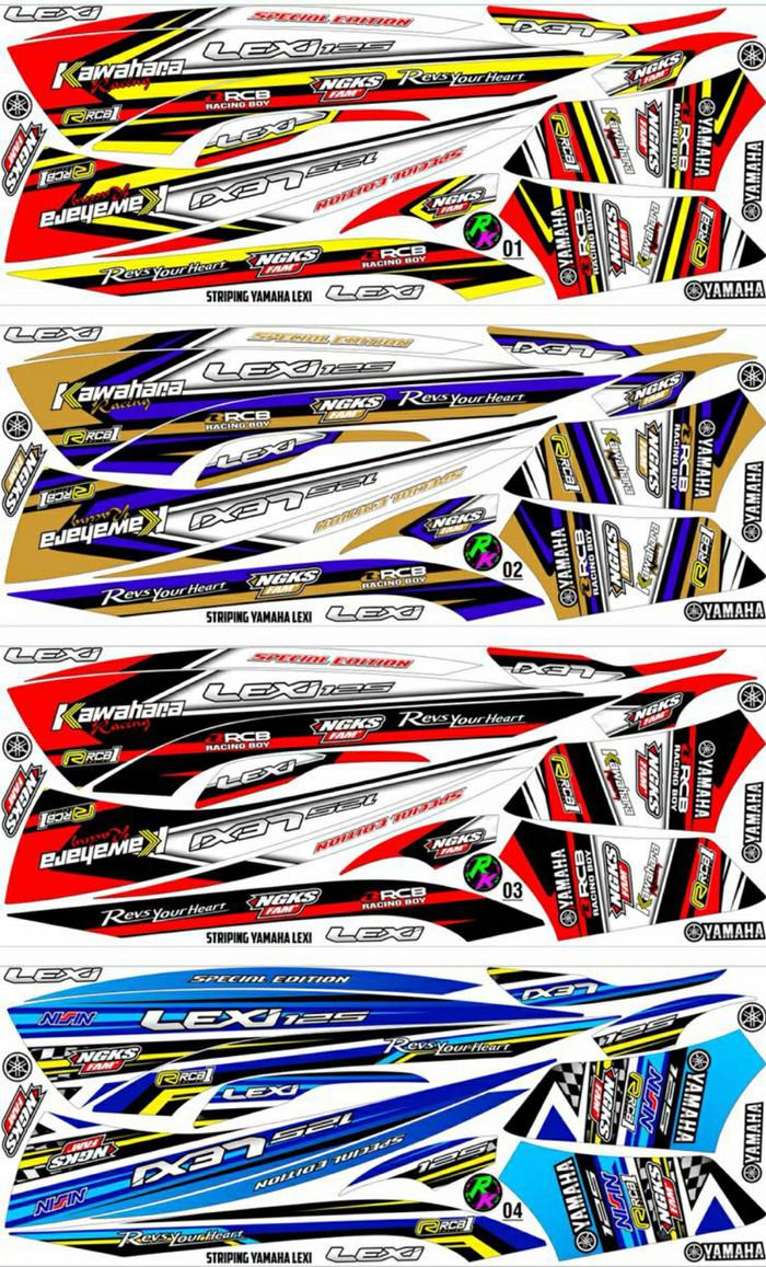 Foto Produk Sticker / Striping Variasi Yamaha LEXI     -7 dari MOLAN Stiker
