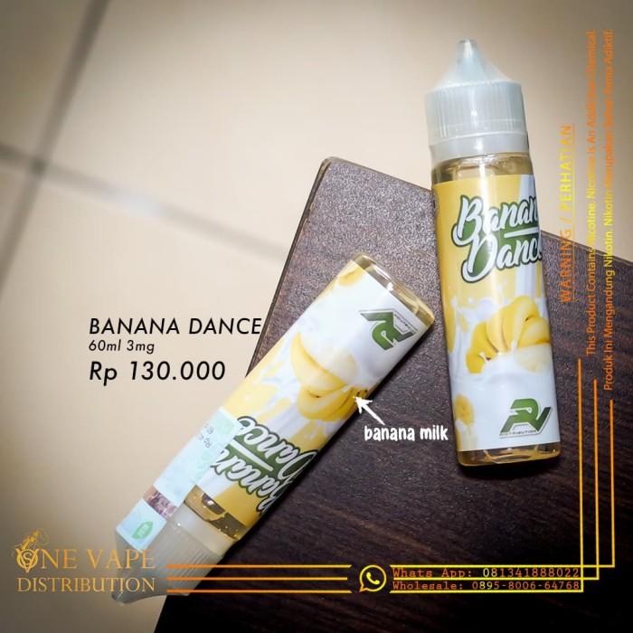 banana dance bercukai vape vapor liquid 60 ml 3mg