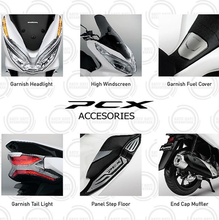 Foto Produk (PCX 150 Lokal) Honda ORI Paket Aksesoris Premium KOMPLIT - 6 Item dari Satu Hati Nusantara