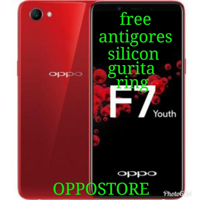 harga Oppo f7 youth ram 4/64 black n red new Tokopedia.com