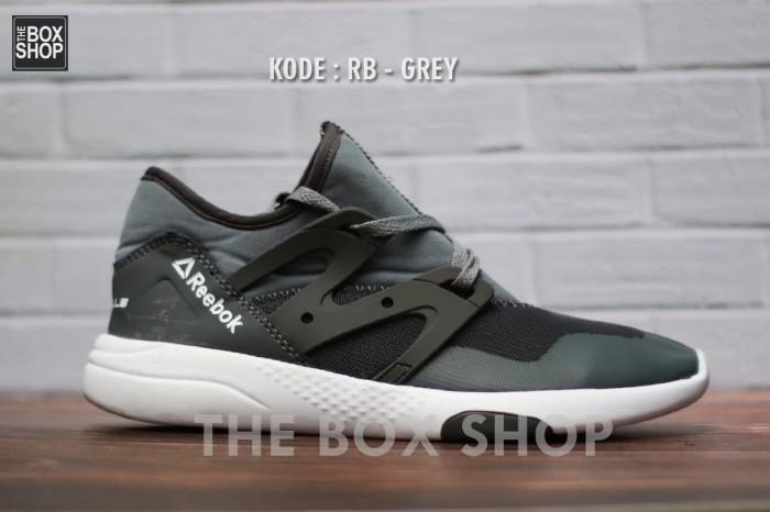 Sepatu sport sneakers reebok lesmils pria import casual termurah 16b2f8f8a7