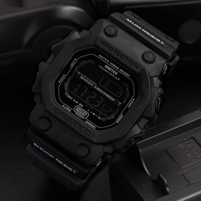 Jam Tangan Pria Digitec Original DG-2012 Full Black