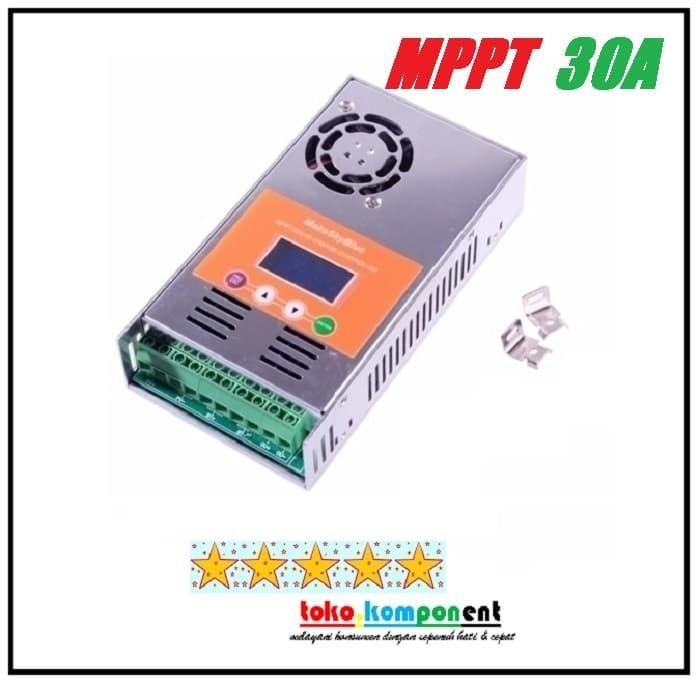 Jual MPPT 30A SOLAR CHARGE CONTROLLER SCC Makeskyblue bukan merk EPEVER -  Kota Semarang - toko-komponen | Tokopedia