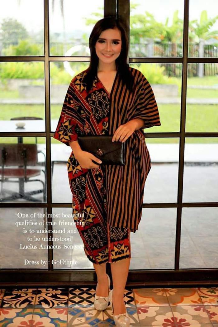 Jual Dress Ethnic Lurik Modern Batik Modern Dress Pesta Blazer Kimono Kab Jepara Tenun Ikat Mulia Jaya Tokopedia