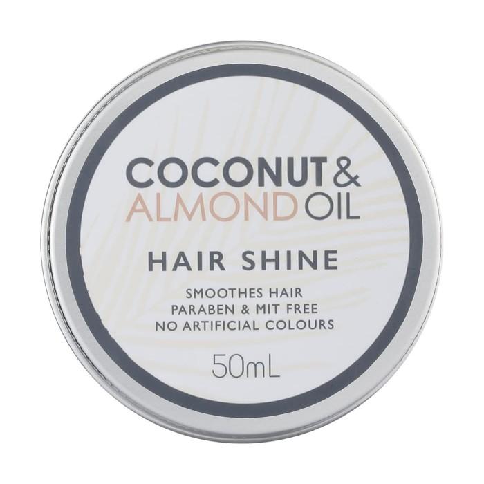 harga Coconut & almond oil hair shine 50 ml Tokopedia.com